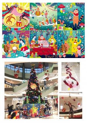 イオンモール福岡_クリスマス-01